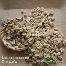 Núcleo de cacahuate blanqueado