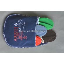 simple soft warm style felt indoor slipper unsex