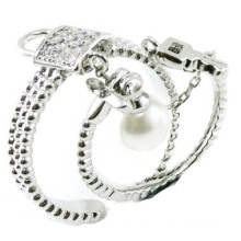 Mais nova moda e boa qualidade 925 prata esterlina jóias anel (r10425)