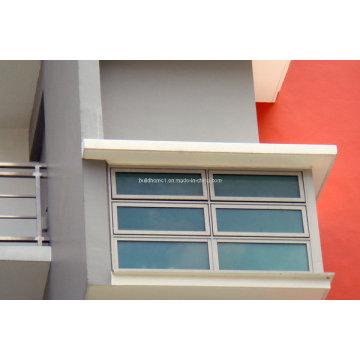 Prix de vitre coulissant en aluminium à double vitrage pratique