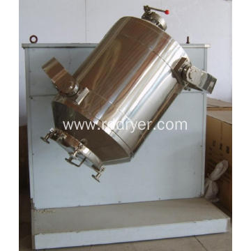 High Efficiency Three Dimension Dry Powder Blender Unit for Chemical Factory
