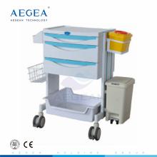 Новое прибытие АГ-MT014 материал ABS сестринского медицинского инструмента вагонетки