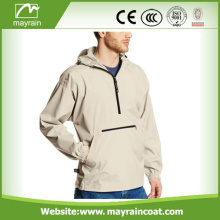 Men' s Casual Waterproof Custom Rain Jacket