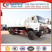 18000 litros camión de tanque de agua, 18ton water sprinkler truck para la venta