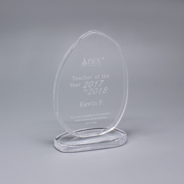 Unieke Glass Plaque Award en Crystal Trophies