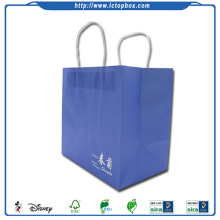 Cheap recyclable paper gift bag