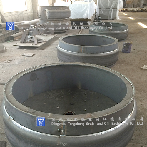 rice bran extract machine parts