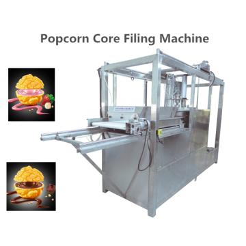 Máquina de llenado de núcleo para palomitas de maíz y galletas, etc.