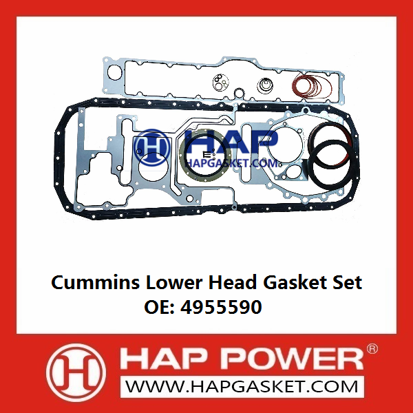 CUMMINS Lower Head Gasket Set 4955590