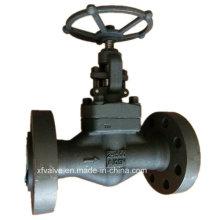 API602 alta presión 1500lb válvula de globo de extremo de brida de acero forjado