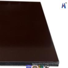 Revêtement PVDF en alliage d'aluminium Matériau Construction Acm