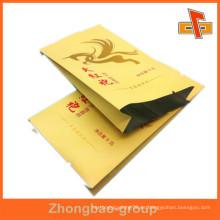 Laminación para impresión Kraft Paper AL Empaquetado interior, Bolsa de papel de aluminio