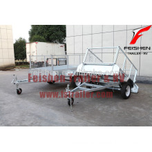 Welded cage trailers (checker plate body) 2014