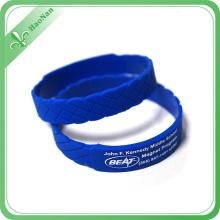 Bracelet en silicone coloré populaire de haute qualité 2016 pour l'événement