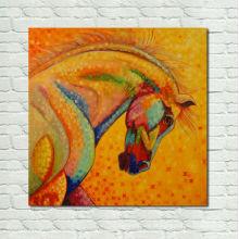 Pintura original do cavalo