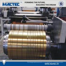Nouveau type de haute qualité utilisé feuille en aluminium machine à refendre