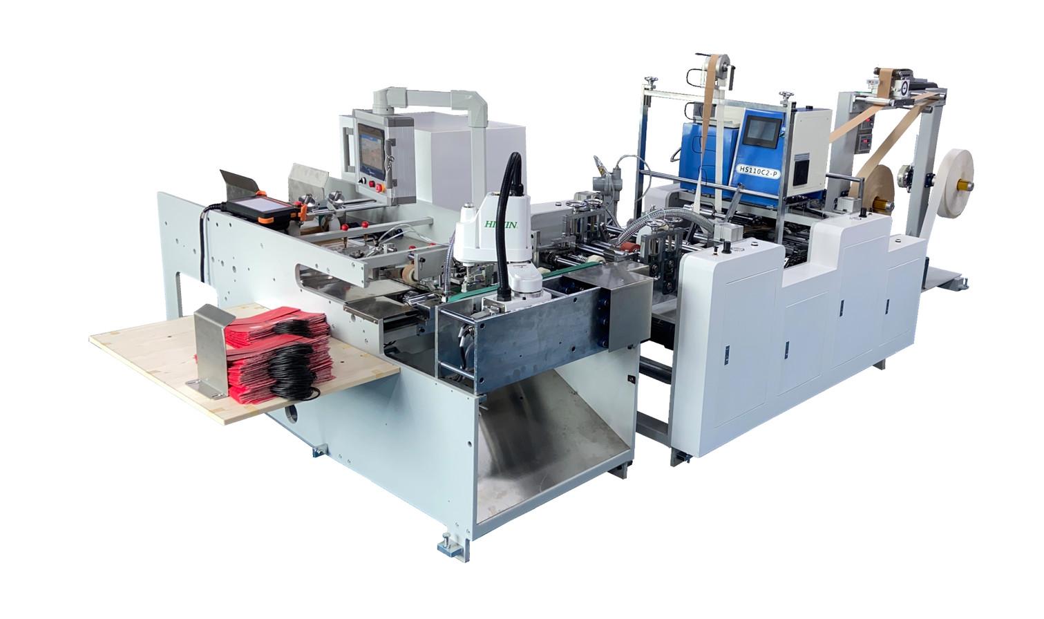 full automatic paper handle machine