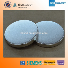 Chinese Professional N35 D10X1 Neodymium Disc badge magnet