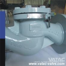 Válvula de retención de pistón / elevación / globo de acero fundido