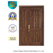 European Style MDF Double Door for Interior (xcl-023)