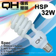 32ВТ Е27 половина спираль энергосберегающие лампы 2700К/6500К