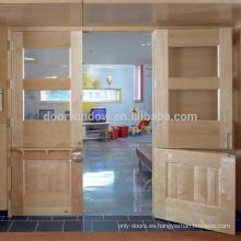 Puerta holandesa de la última puerta funcional de las puertas de madera del último diseño para la puerta de la entrada