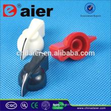 K7-1-18T 6mm für gerändelten Schaft Huhn Kopf Knopf