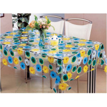 PVC Printed Transparent Table Cloth (TT0239A)