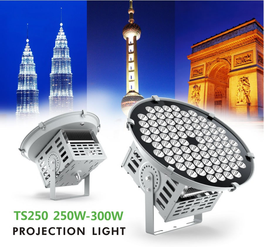 250W LED High Miast Lights Osram LED Floodlights