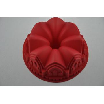Silicone Factory Castle Crown Design Cake Bakken Tools