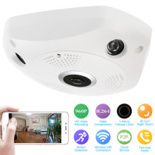360 Degree View Wifi Wireless Camera Surveillance System