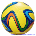 Yellow Color High Quality Rubber Sporting Football