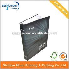 Custom advertising folder design