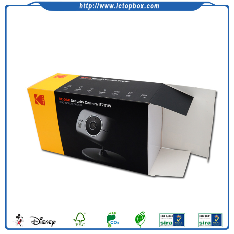 Custom Paper Material Box Electronic Product Packaging