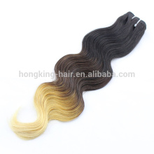 ombre extensions de cheveux / trame 100 grammes par paquet