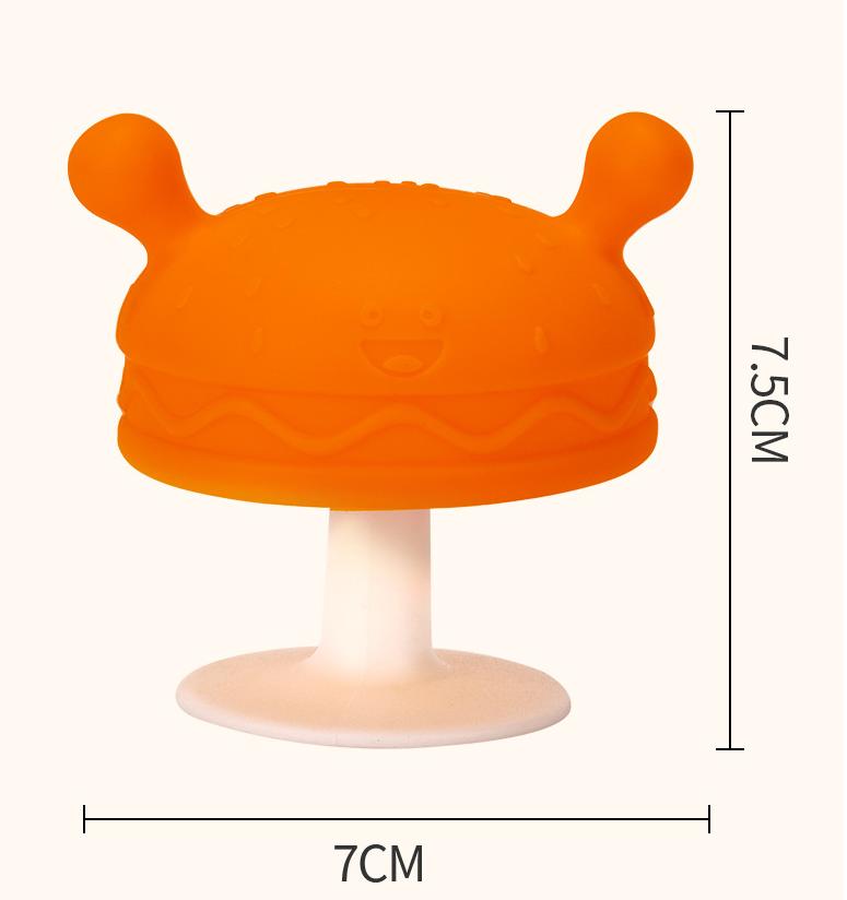 Silicone Mushroom Teether