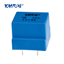 mini voltage transformer TV19E 5mA:5mA 2000 turns pcb voltage transformer
