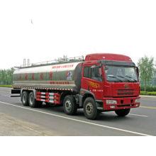 Véhicule à lait Jiefang 8x4, véhicule de transport de chaleur au lait frais