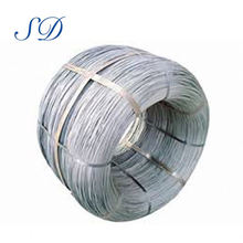 Alambre de acero galvanizado sumergido caliente fuerte de la alta tensión para cercado