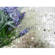 POLY MESH WITH 12MM SEQUIN EMBROIDERY 50 52""