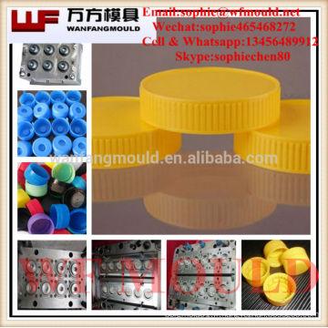 Usine direct ventes assurance de la qualité de haute qualité cosmétique bouchon de la bouteille moule / moule en plastique de haute qualité
