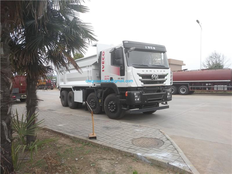 8x4 Dump Truck 5
