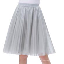 Kate Kasin diseño elegante de las 4-capas de las mujeres Puffy Tulle suave que rejilla una línea falda KK000660-1