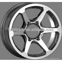 2015 alloy wheel rim 6hole 4x4 chrome wheels rims 16*7.0 inch