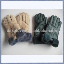 Cheap Wool Lined Sheepskin Fur Gloves