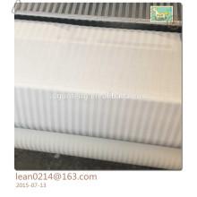 """Blanchiment 100% de coton blanc et tissu teint par plaine pour des draps de lit Tissu de coton de 110 """"pour le drap de lit"""