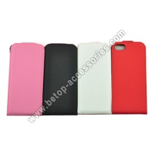 iphone 5 flip leather case