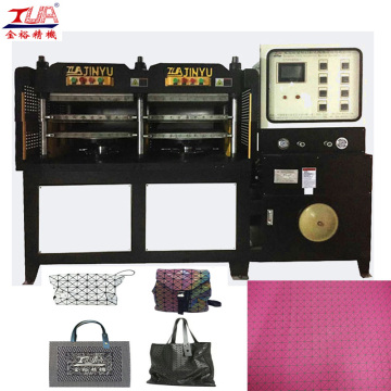 Women KPU Bag Upper Making Machine