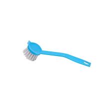 Escova limpa do prato plástico azul de Eco 22.5 * 5 * 3cm