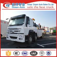 8 * 4 Sinotruk Howo Camión de remolque de 16000 kgs Wrecker